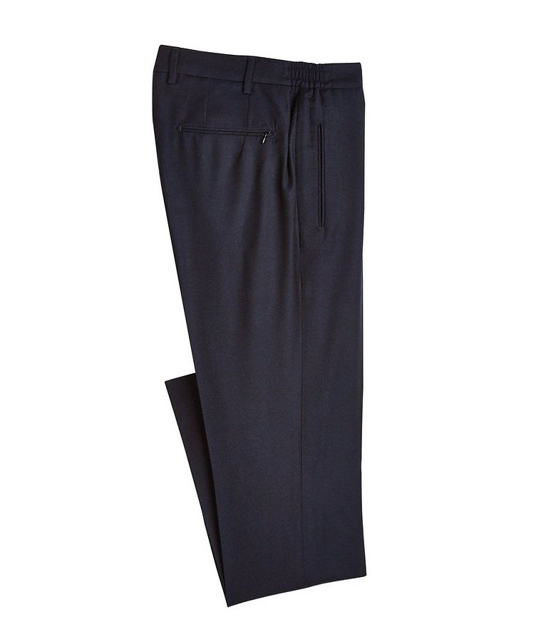 Impeccabile Contemporary Wool Pants image 0