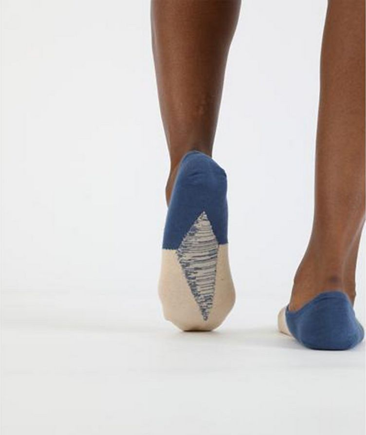 No-Show Cotton-Blend Socks image 1