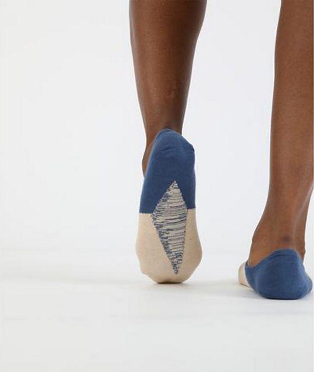 No-Show Cotton-Blend Socks picture 2