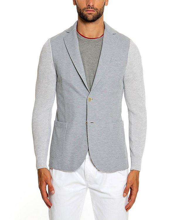 Stretch-Cotton-Blend Sports Jacket picture 1