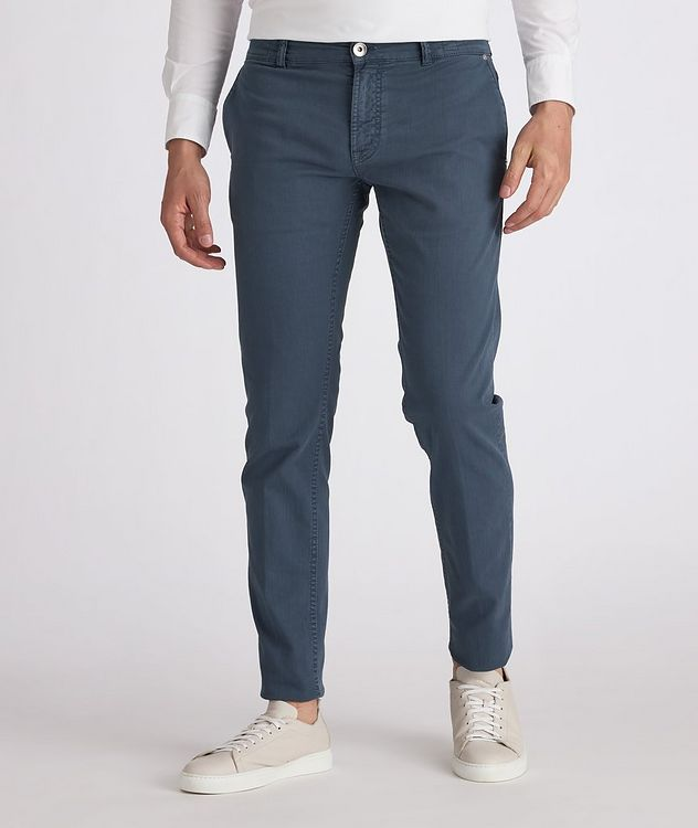 Five-Pocket Stretch Jeans picture 2