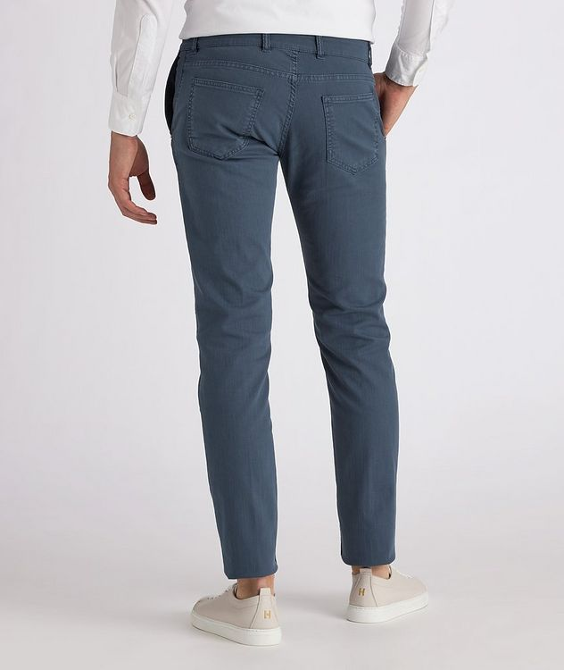 Five-Pocket Stretch Jeans picture 3