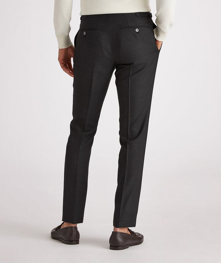 Shelton Slim-Fit Silk Dress Pants image 2