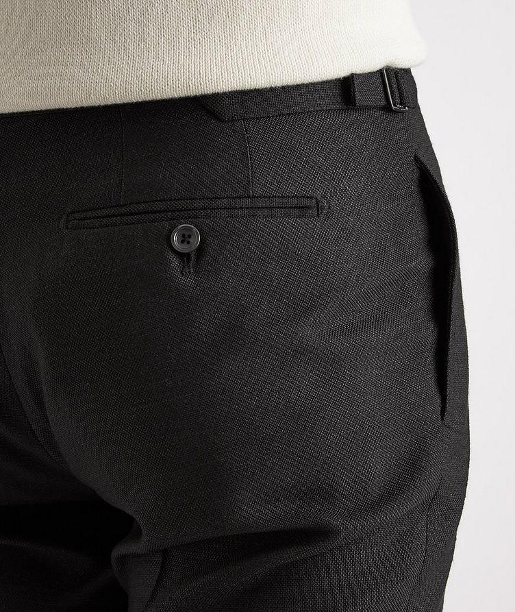 Shelton Slim-Fit Silk Dress Pants image 3