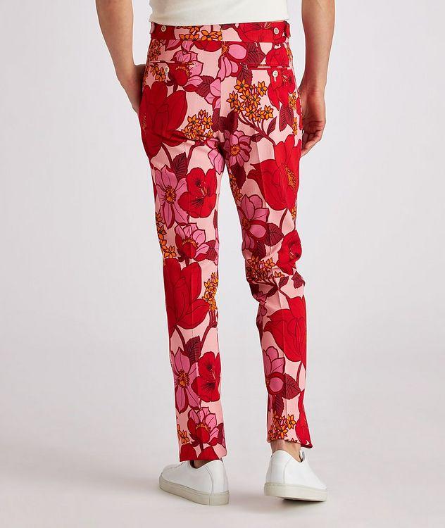 Atticus Floral Stretch Dress Pants picture 3