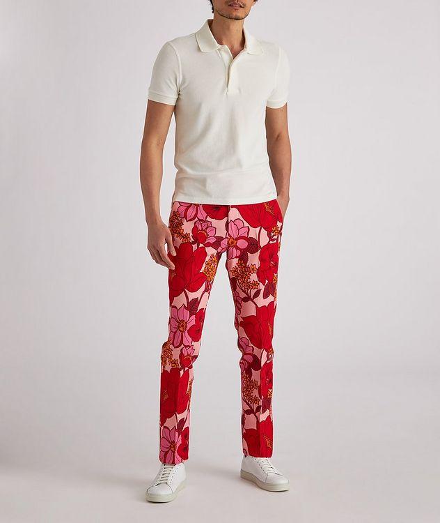 Atticus Floral Stretch Dress Pants picture 6