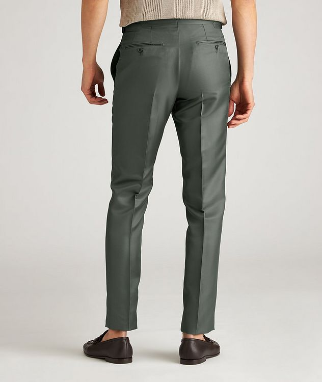O'Connor Slim-Fit Silk-Blend Dress Pants picture 3
