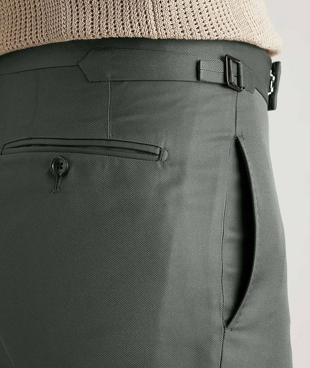 O'Connor Slim-Fit Silk-Blend Dress Pants picture 4
