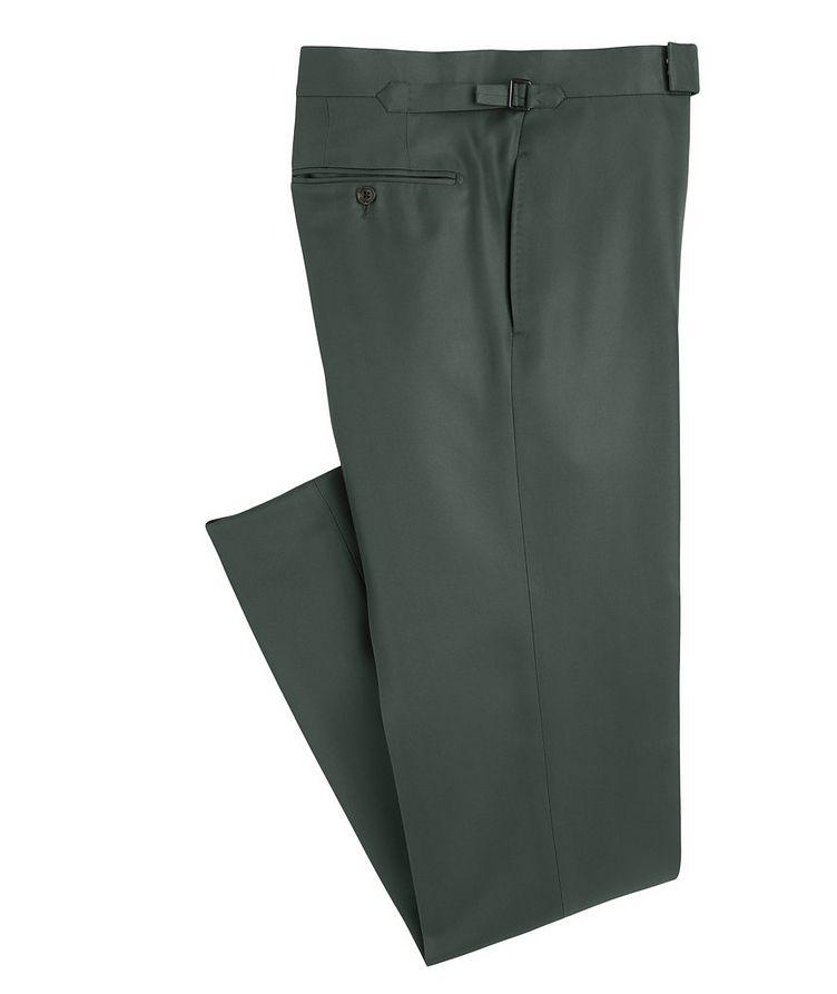 O'Connor Slim-Fit Silk-Blend Dress Pants image 0
