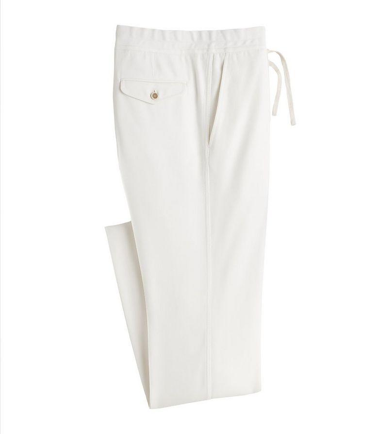 Drawstring Dress Pants image 0