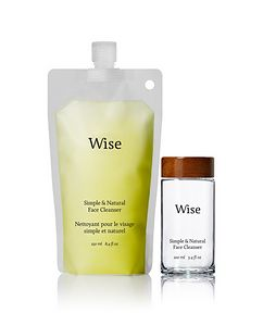 Wise Willowherb Face Cleanser in Refill Pouch