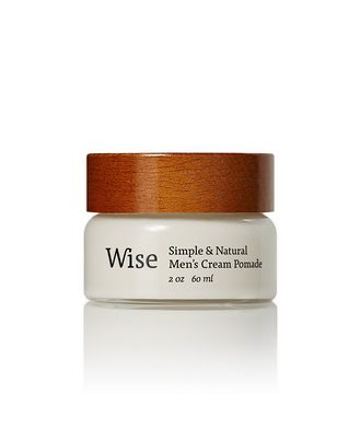 Wise Red Maple Cream Pomade in Reusable Glass Jar