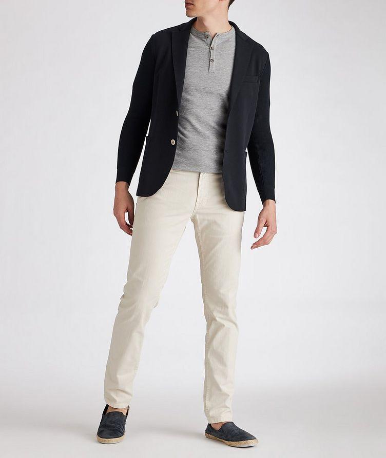 Stretch-Cotton-Blend Sports Jacket image 3