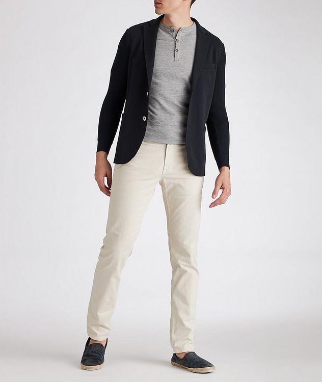Stretch-Cotton-Blend Sports Jacket picture 4