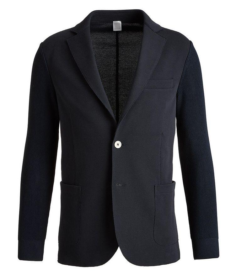 Stretch-Cotton-Blend Sports Jacket image 0