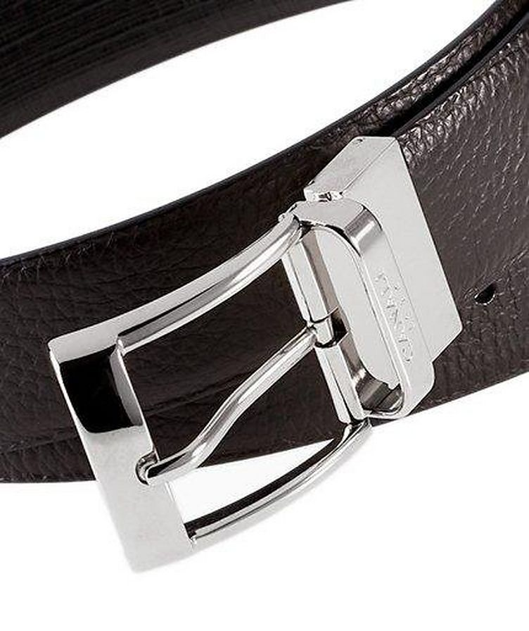 Pebbled Leather Belt image 1