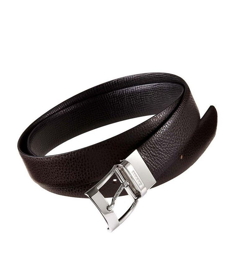 Pebbled Leather Belt image 0