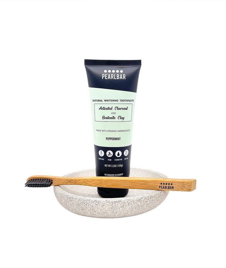 Charcoal  Bentonite Clay Natural Whitening Toothpaste  image 1