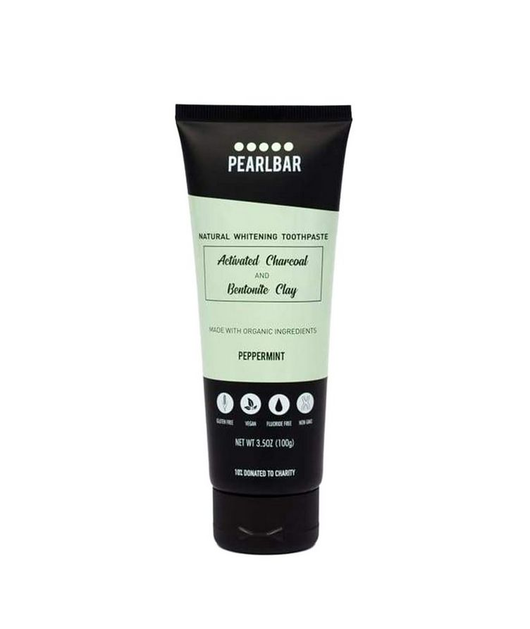 Charcoal  Bentonite Clay Natural Whitening Toothpaste  image 0