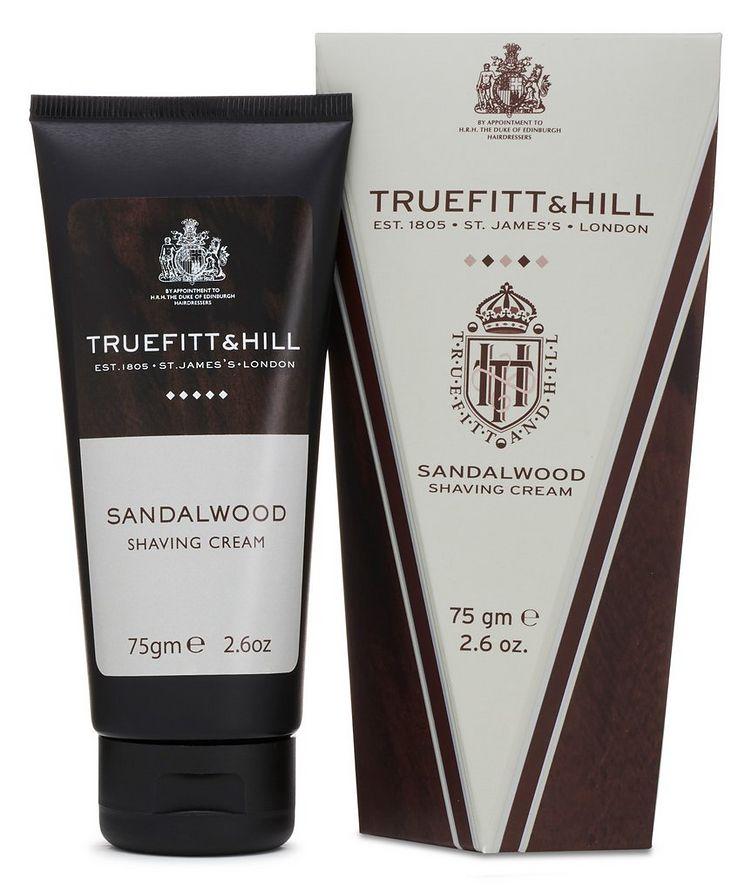 Sandalwood Shaving Cream Travel Tube image 1