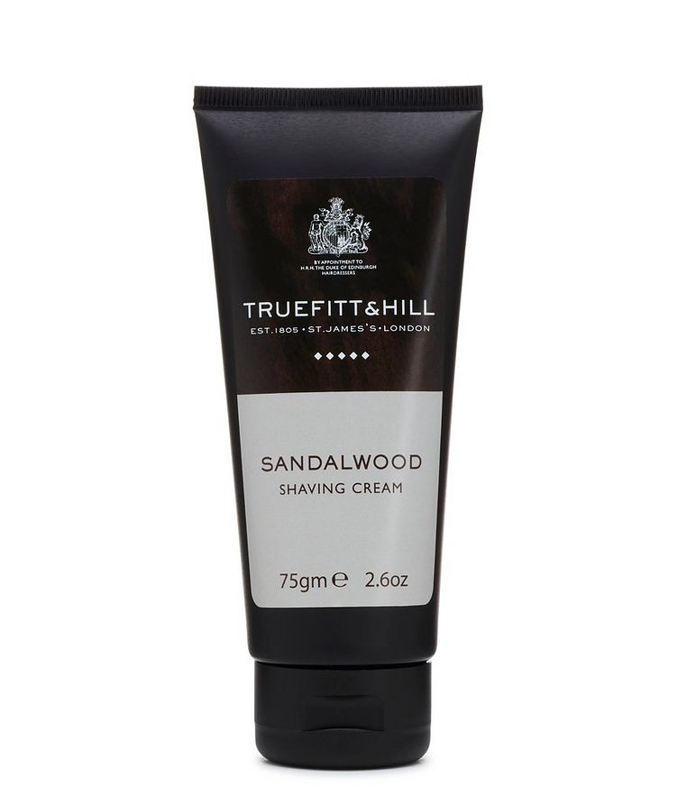 Sandalwood Shaving Cream Travel Tube image 0
