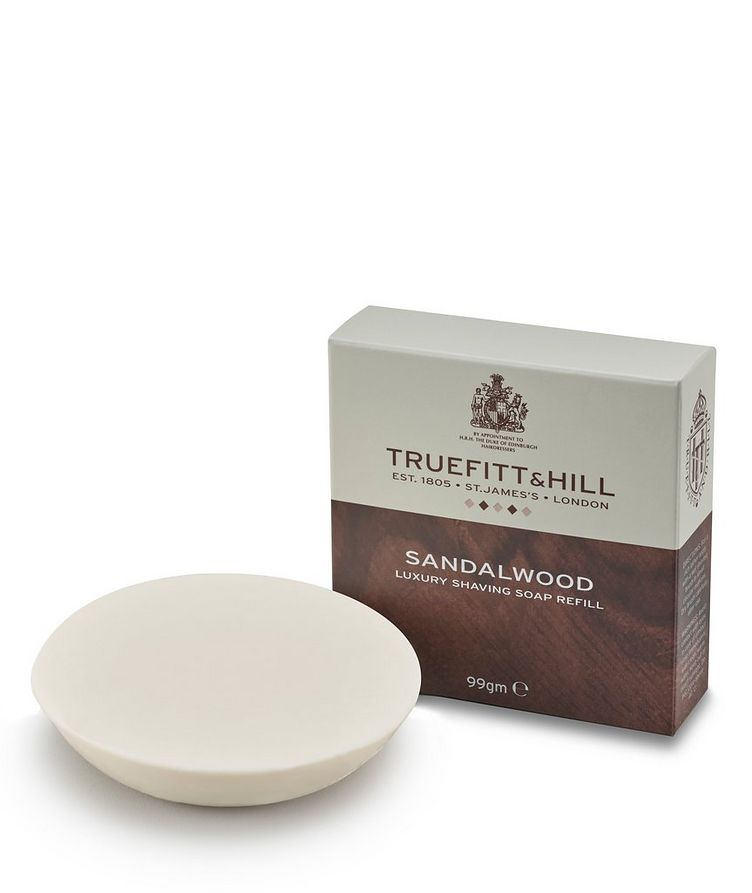 Sandalwood Lux Shaving Soap Refill image 0