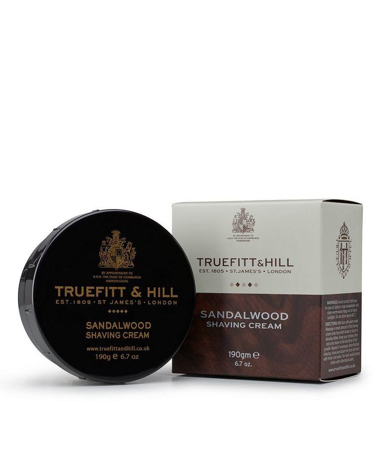 Sandalwood Shaving Cream Bowl image 1
