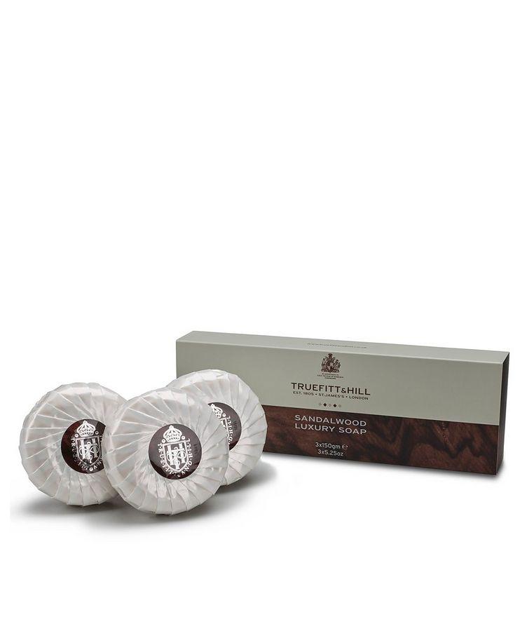 Sandalwood Triple Soap image 1