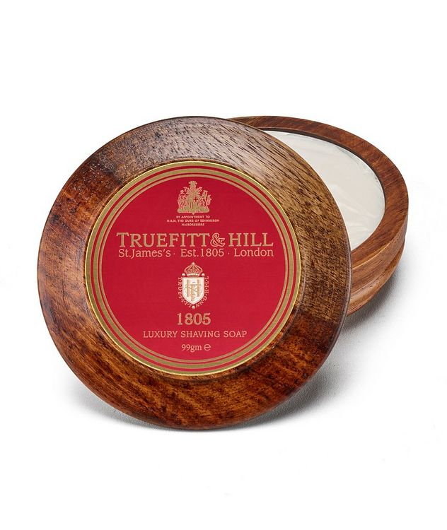 1805 Lux Shaving Soap in Wooden Bowl picture 1