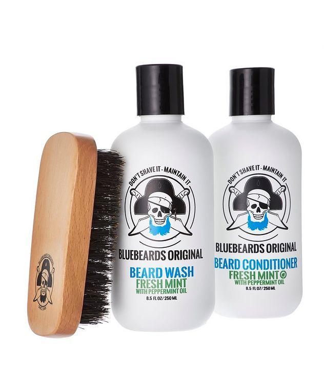 Fresh Mint Beard Grooming Set   picture 1