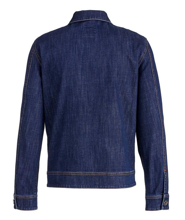 Stretch-Cotton Denim Jacket image 1
