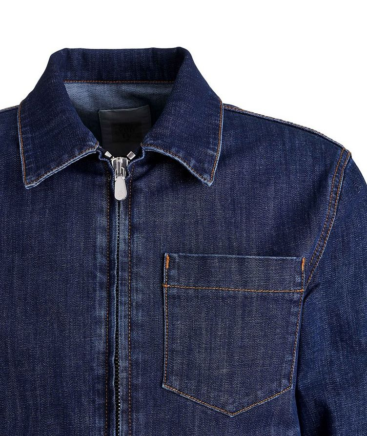Stretch-Cotton Denim Jacket image 2