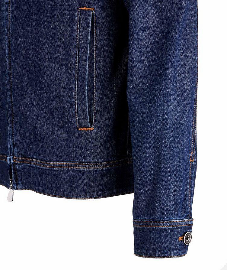 Stretch-Cotton Denim Jacket image 3