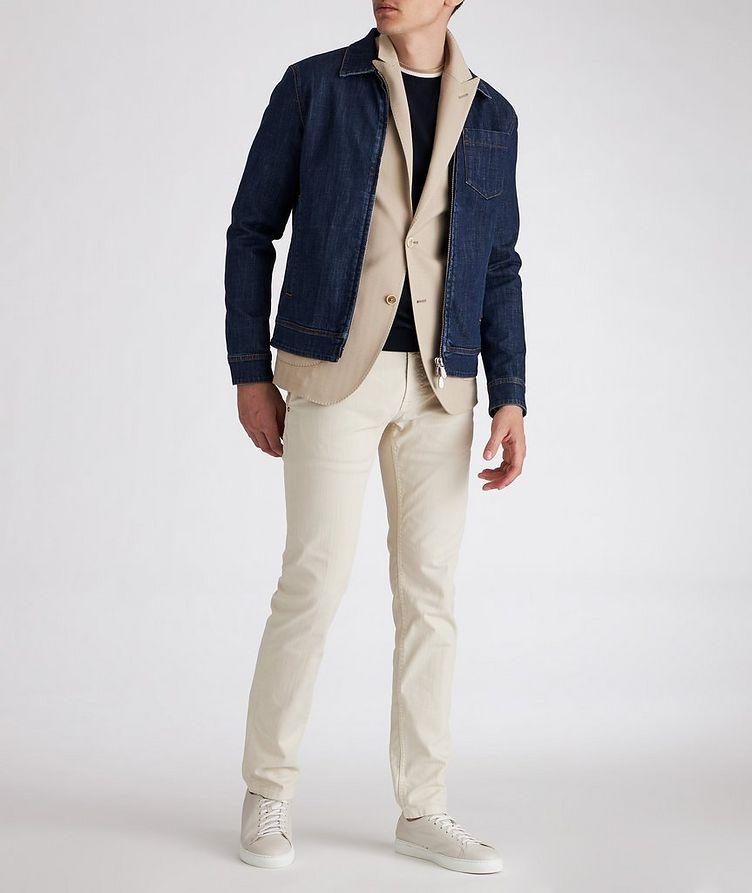 Stretch-Cotton Denim Jacket image 4