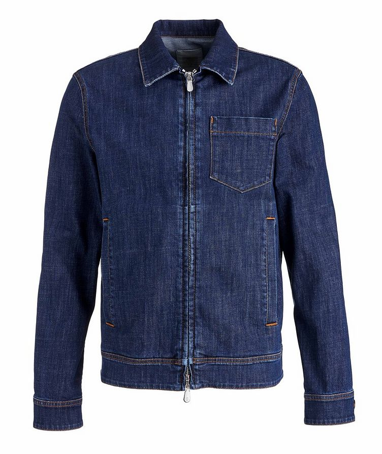 Stretch-Cotton Denim Jacket image 0