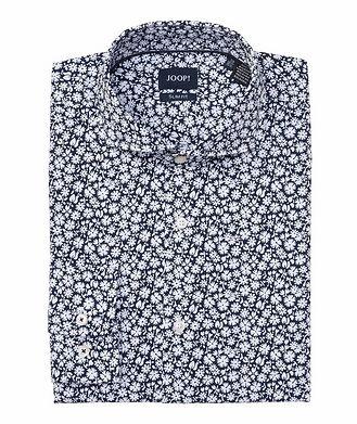 Joop! Slim-Fit Floral-Printed Cotton Shirt