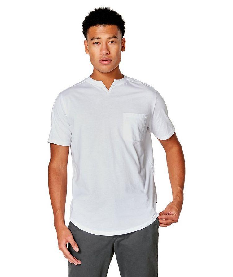 Premium Jersey Notch Crewneck T-shirt image 0