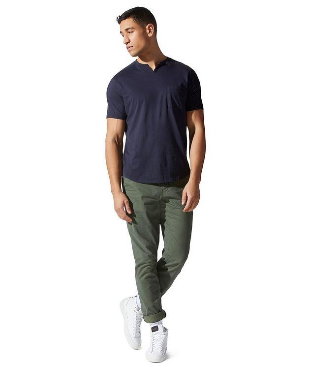 Premium Jersey Notch Crewneck T-shirt picture 2