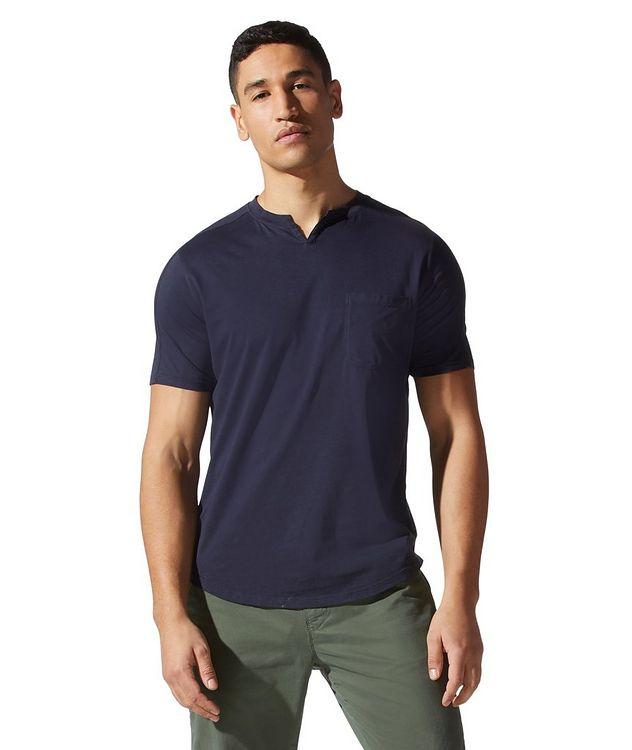 Premium Jersey Notch Crewneck T-shirt picture 1