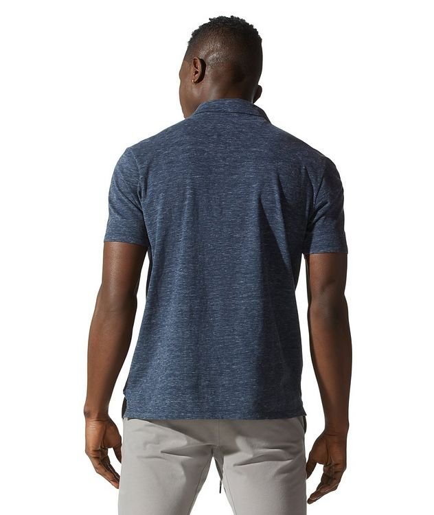 Premium Heather Open-collar Polo picture 4