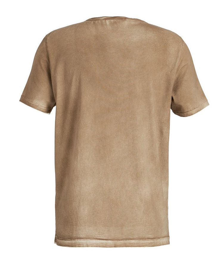 Spray-Dyed Cotton T-Shirt image 1