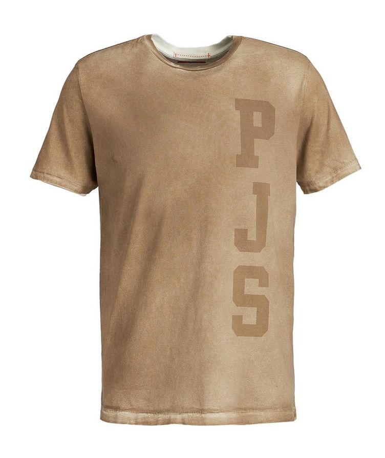 Spray-Dyed Cotton T-Shirt image 0
