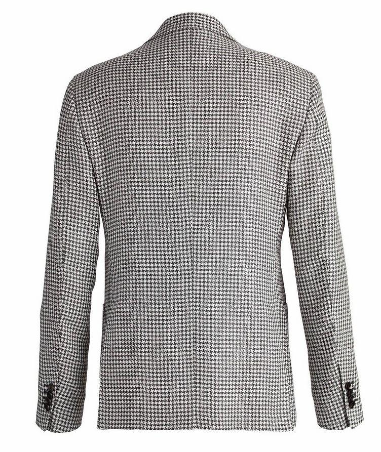Brera Houndstooth Wool-Flax Sports Jacket image 1