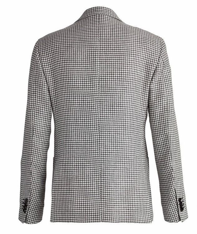Brera Houndstooth Wool-Flax Sports Jacket picture 2