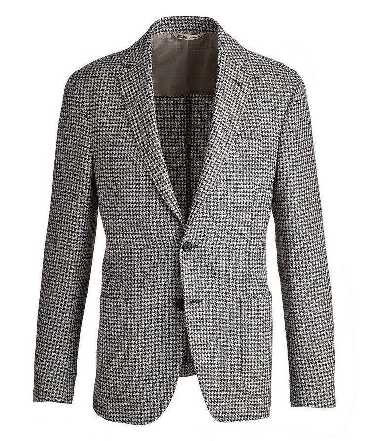 Brera Houndstooth Wool-Flax Sports Jacket image 0