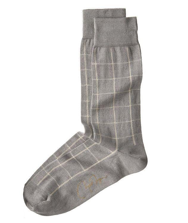 Chaussettes à carreaux picture 1