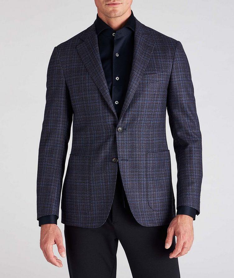 Kei Plaid Wool Sports Jacket image 1