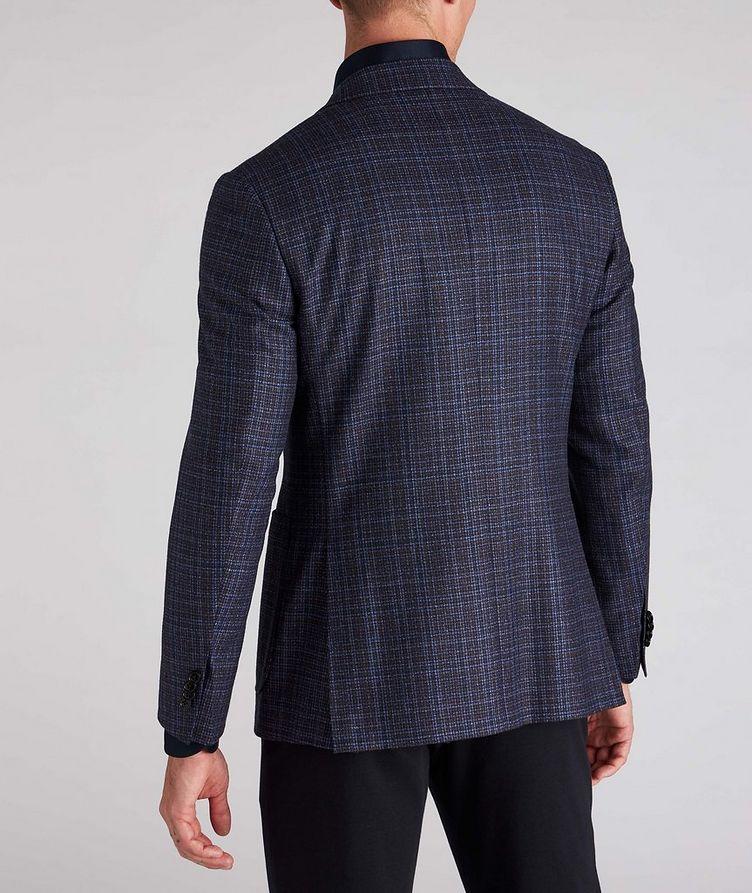 Kei Plaid Wool Sports Jacket image 2