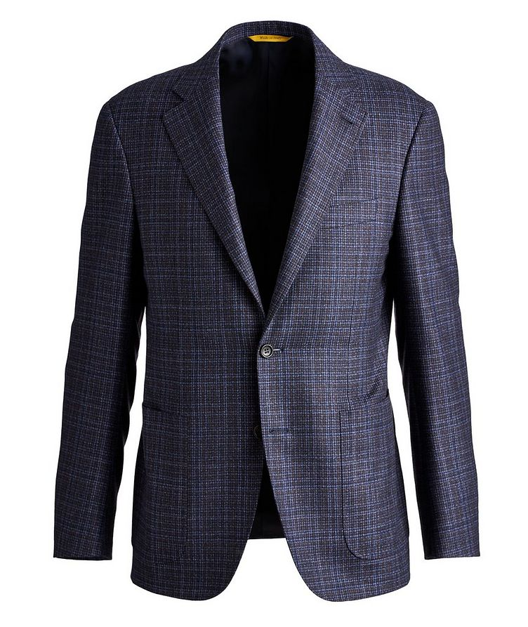 Kei Plaid Wool Sports Jacket image 0
