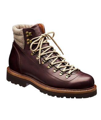 Brunello Cucinelli Leather Alpine Boots